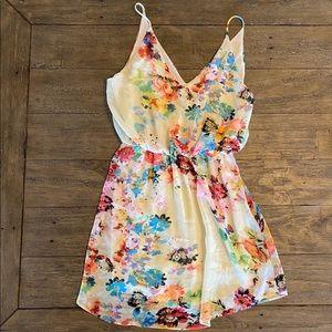 Final Touch Floral Dress